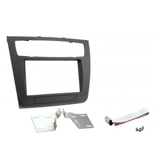 Connects2 Double DIN Stereo Fascia Plate For BMW - CT23BM05