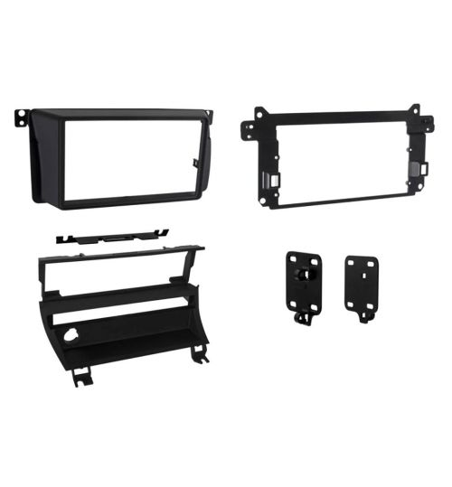 Connects2 Double DIN Stereo Fascia Plate For BMW - CT23BM11L