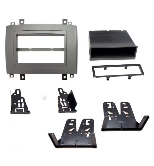 Connects2 Double DIN Stereo Fascia Plate For Cadillac - CT23CA02