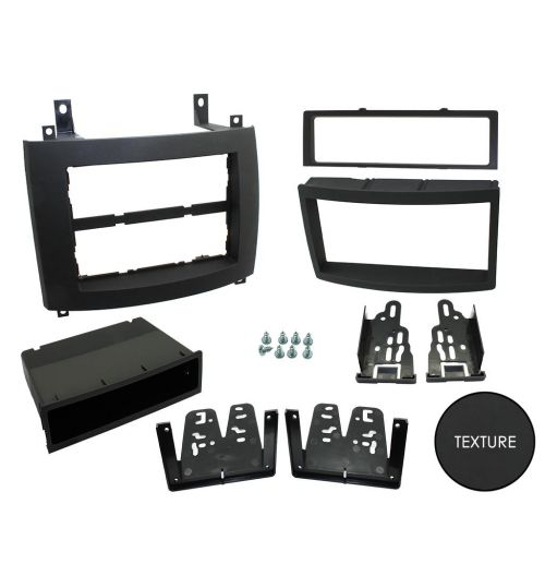 Connects2 Double DIN Stereo Fascia Plate For Cadillac - CT23CA03