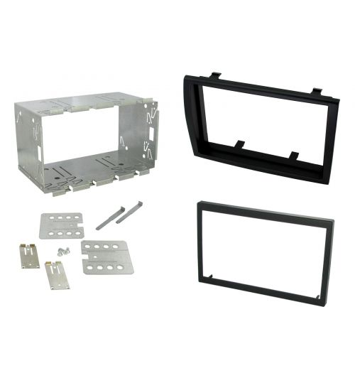 Connects2 Double DIN Stereo Fascia Plate For Fiat - CT23FT02