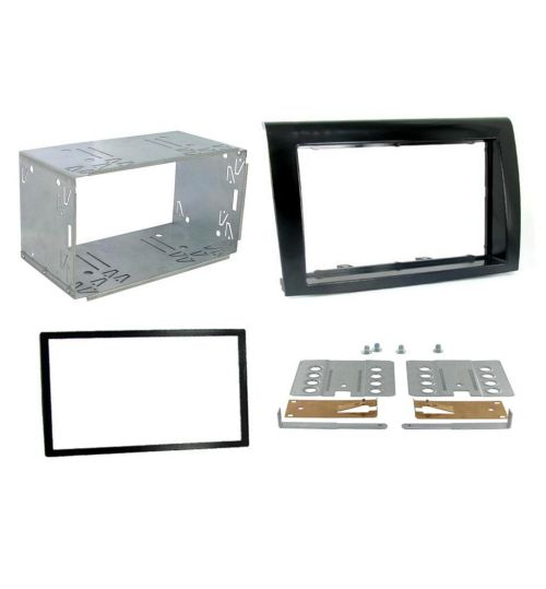 Connects2 Double DIN Stereo Fascia Plate For Fiat - CT23FT05
