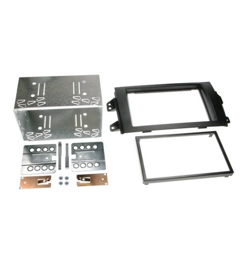 Connects2 Double DIN Stereo Fascia Plate For Fiat - CT23FT06