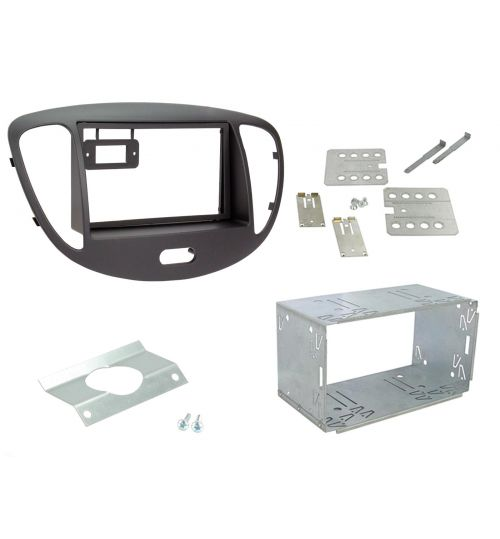 Connects2 Double DIN Stereo Fascia Plate For Hyundai - CT23HY13