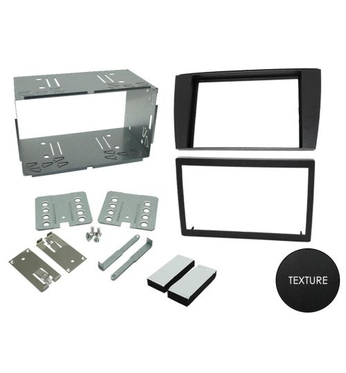 Connects2 Double Din Stereo Fascia Fitting Kit For Jaguar - CT23JG01