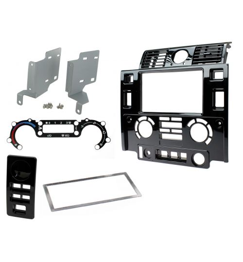 Connects2 Double Din Fascia Fitting Kit For Land Rover Defender - CT23LR06
