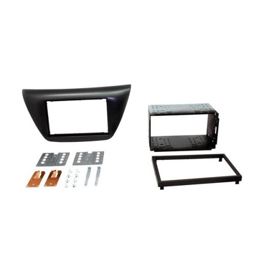Connects2 Double Din Fascia Fitting Kit For Mitsubishi - CT23MT02