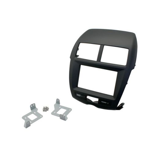 Connects2 Double Din Stereo Fascia Adapter For Mitsubishi - CT23MT08