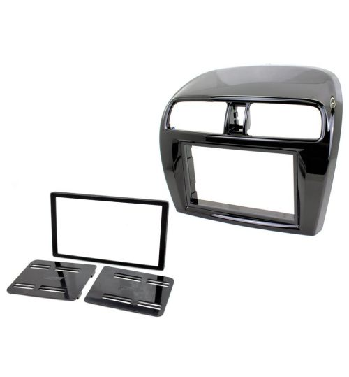 Connects2 Double Din Fascia Fitting Kit For Mitsubishi - CT23MT15