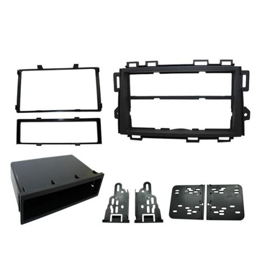 Connects2 Double Din Stereo Fascia Fitting Kit For Nissan - CT23NS05