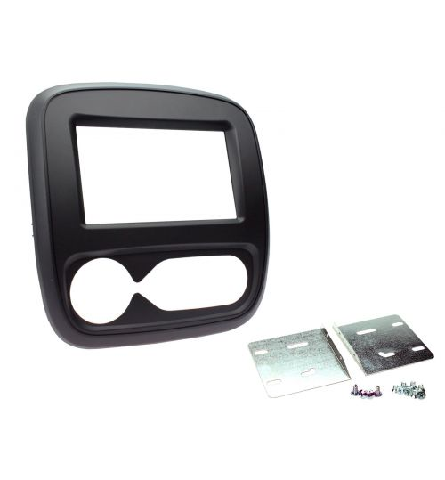 Connects2 Double Din Fascia Fitting Adaptor For Vauxhall - CT23VX58
