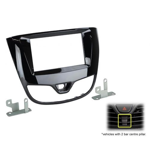 Connects2 Double Din Fascia Fitting Adaptor For Vauxhall - CT23VX62