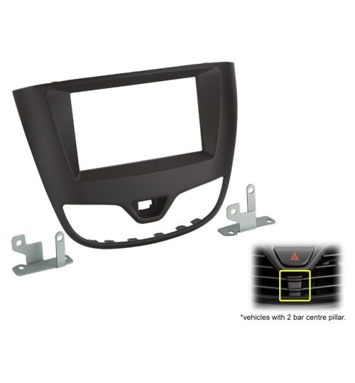 Connects2 Double Din Fascia Fitting Adaptor For Opel - CT23VX63