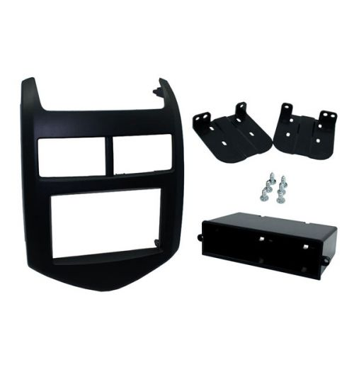 Connects2 Single/Double DIN Stereo Fascia For Chevrolet - CT24CV14