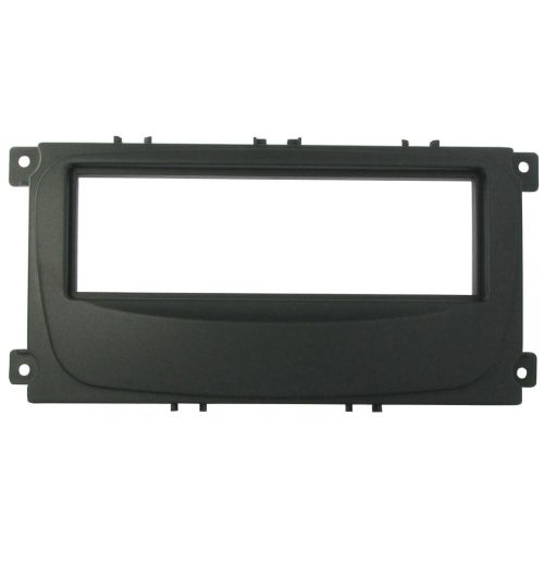Connects2 Single DIN Stereo Fascia Adapter Black For Ford - CT24FD15