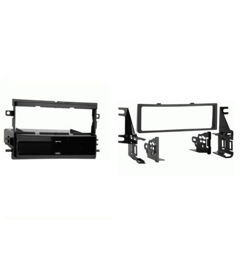 Connects2 Single DIN Stereo Fascia Adapter Black For Ford - CT24FD25