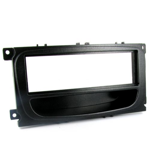 Connects2 Single DIN Stereo Fascia Adapter Black For Ford - CT24FD27