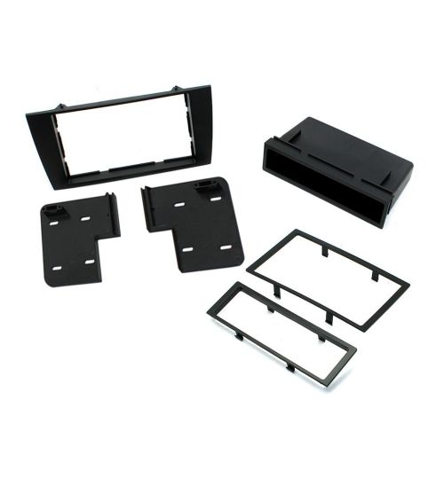 Connects2 Single DIN Stereo Fascia Adapter Black For Jaguar - CT24JG04