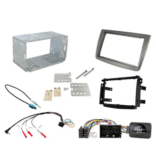 Connects2 Car Stereo Fitting Kit Double DIN Facia Radio Installation For Alfa Romeo - CTKAR06