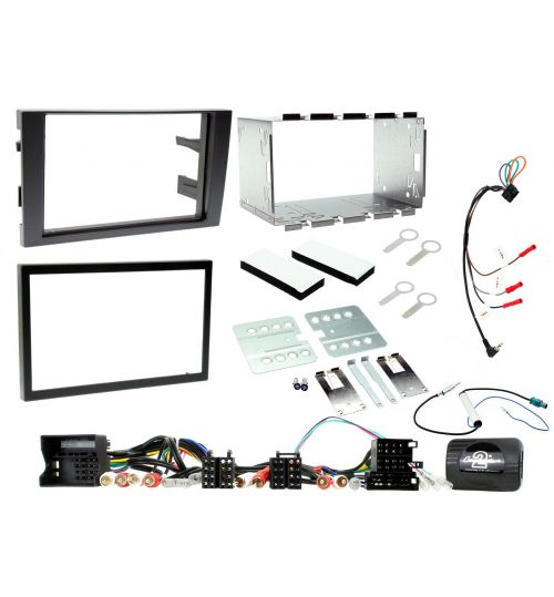 Connects2 Car Stereo Fitting Kit Double DIN Facia Radio Installation For Audi - CTKAU02
