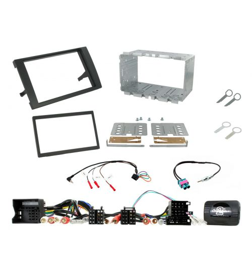 Connects2 Car Stereo Fitting Kit Double DIN Facia Radio Installation For Audi - CTKAU04