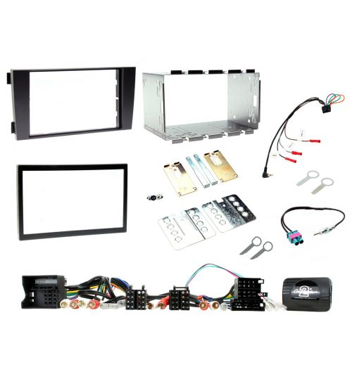 Connects2 Car Stereo Fitting Kit Double DIN Facia Radio Installation For Audi - CTKAU05