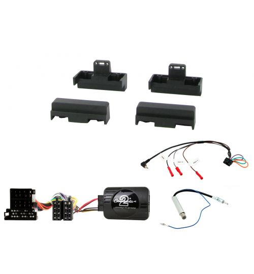 Connects2 Car Stereo Fitting Kit Single DIN Facia Radio Installation For Audi - CTKAU06