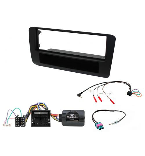 Connects2 Car Stereo Fitting Kit Single DIN Facia Radio Installation For Audi - CTKAU07