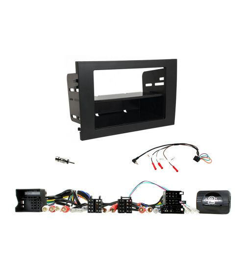 Connects2 Car Stereo Fitting Kit Single DIN Facia Radio Installation For Audi - CTKAU09
