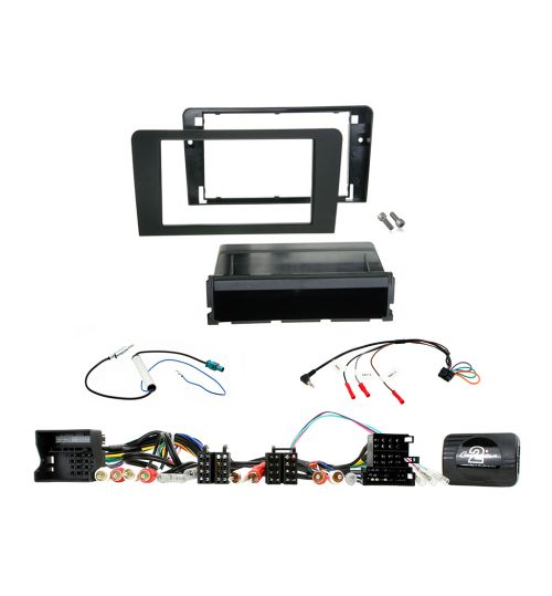 Connects2 Car Stereo Fitting Kit Double DIN Facia Radio Installation For Audi - CTKAU10