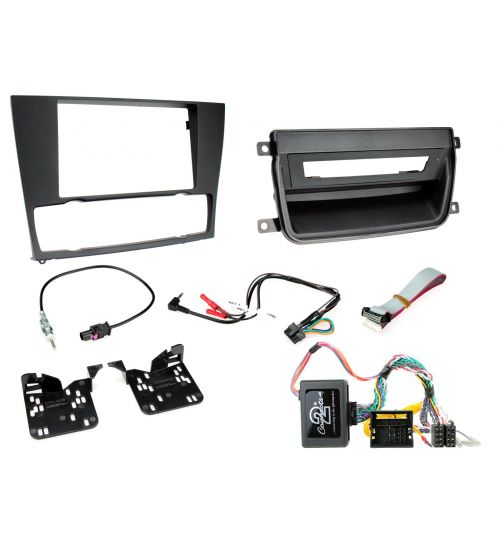 Connects2 Car Stereo Fitting Kit Double DIN Facia Radio Installation For BMW - CTKBM01