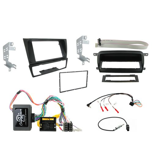 Connects2 Car Stereo Fitting Kit Double DIN Facia Radio Installation For BMW - CTKBM011