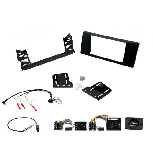 Connects2 Car Stereo Fitting Kit Double DIN Facia Radio Installation For BMW - CTKBM04