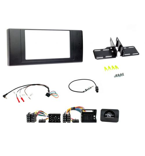 Connects2 Car Stereo Fitting Kit Double DIN Facia Radio Installation For BMW - CTKBM05