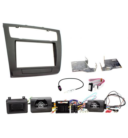 Connects2 Car Stereo Fitting Kit Double DIN Facia Radio Installation For BMW - CTKBM08