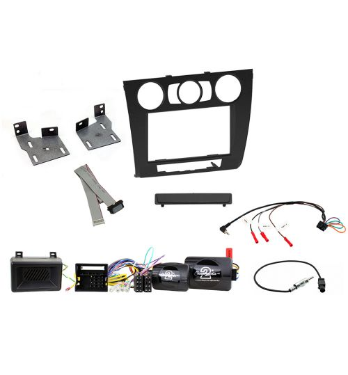 Connects2 Car Stereo Fitting Kit Double DIN Facia Radio Installation For BMW - CTKBM09