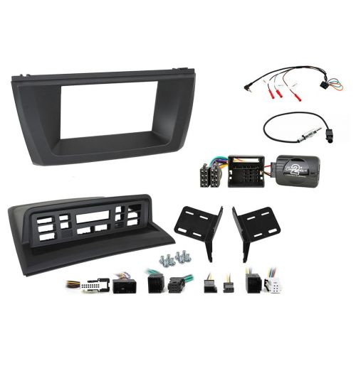 Connects2 Car Stereo Fitting Kit Double DIN Facia Radio Installation For BMW X3 - CTKBM29