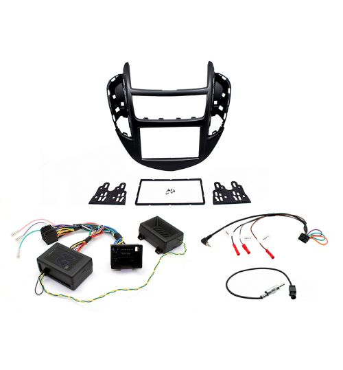 Connects2 Car Stereo Fitting Kit Double DIN Facia Radio Installation For Chevrolet - CTKCV06