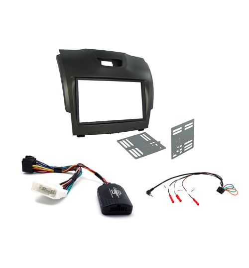 Connects2 Car Stereo Fitting Kit Double DIN Facia Radio Installation For Chevrolet - CTKCV08
