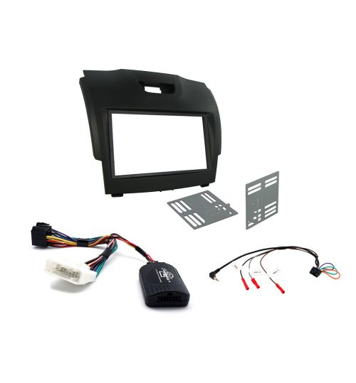 Connects2 Car Stereo Fitting Kit Double DIN Facia Radio Installation For Chevrolet - CTKCV09