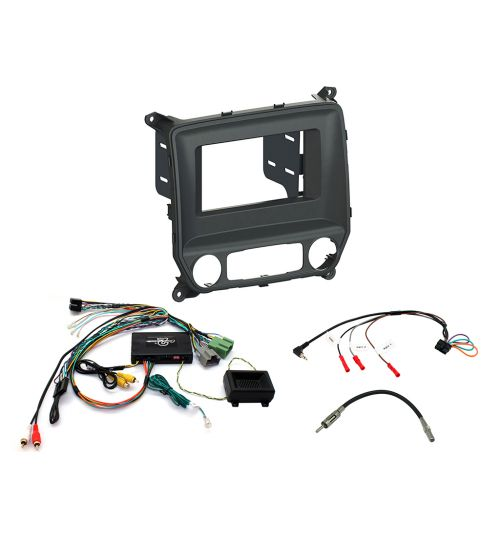 Connects2 Car Stereo Fitting Kit Single / Double DIN Fascia Radio Installation For Chevrolet - CTKCV07