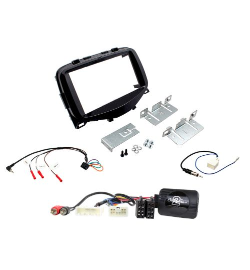 Connects2 Car Stereo Fitting Kit Double DIN Facia Radio Installation For Citroen - CTKCT02