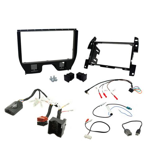Connects2 Car Stereo Fitting Kit Double DIN Facia Radio Installation For Citroen - CTKCT03