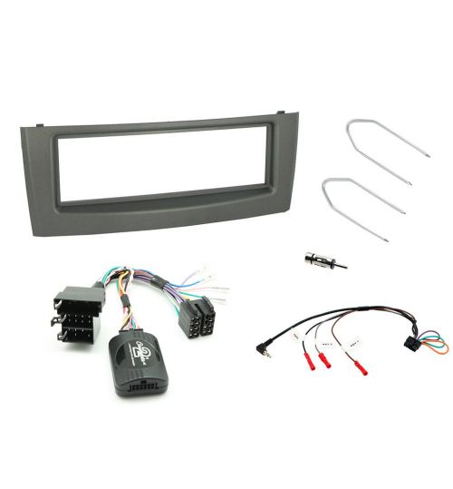 Connects2 Car Stereo Fitting Kit Single DIN Facia Radio Installation For Fiat - CTKFT01