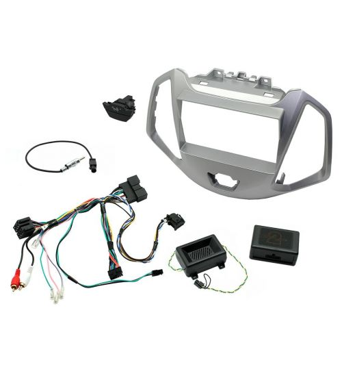 Connects2 Car Stereo Fitting Kit Double DIN Facia Radio Installation For Ford - CTKFD62