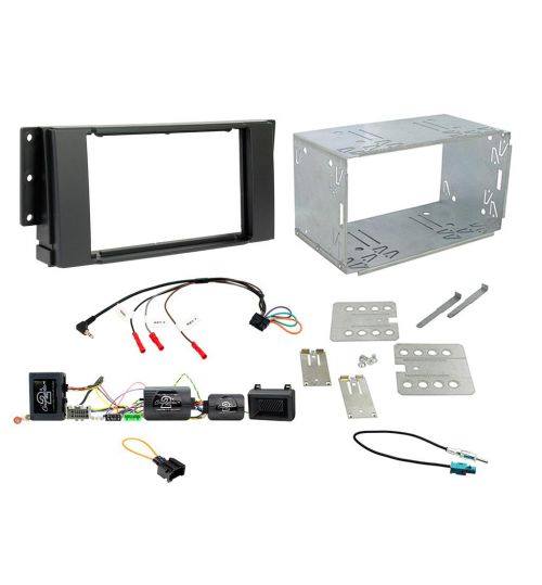 Connects2 Car Stereo Fitting Kit Double DIN Facia Radio Installation For Land Rover Freelander - CTKLR07