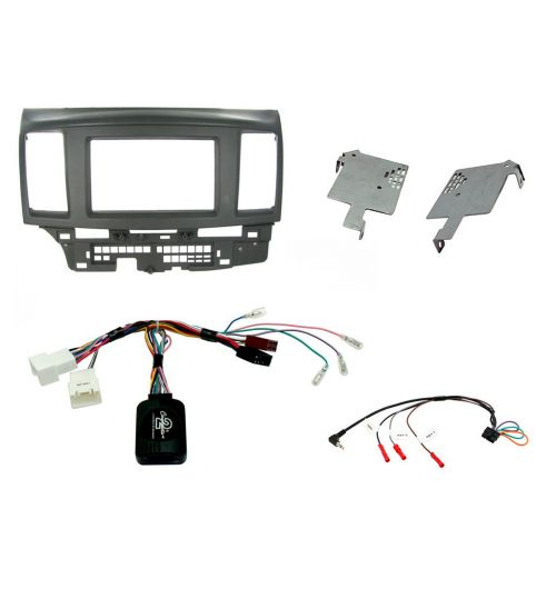 Connects2 Car Stereo Fitting Kit Double DIN Facia Radio Installation For Mitsubishi - CTKMT04
