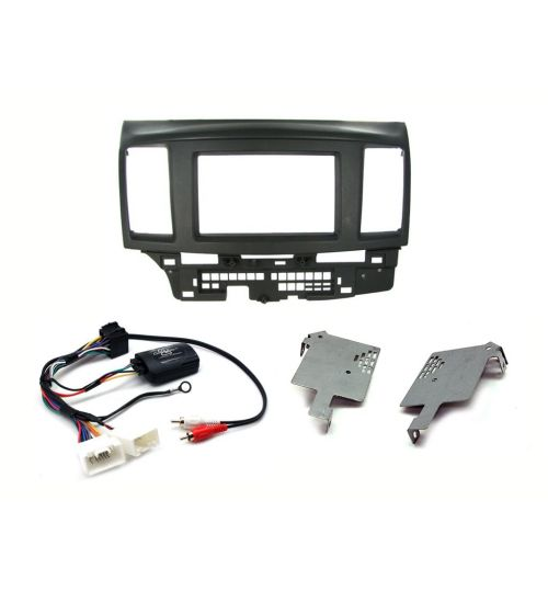 Connects2 Car Stereo Fitting Kit Double DIN Facia Radio Installation For Mitsubishi - CTKMT05
