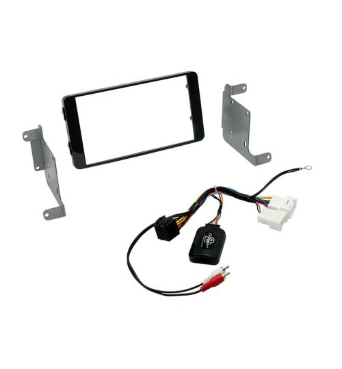 Connects2 Car Stereo Fitting Kit Double DIN Facia Radio Installation For Mitsubishi - CTKMT12