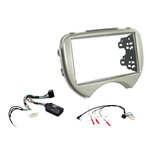 Connects2 Car Stereo Fitting Kit Double DIN Facia Radio Installation For Nissan - CTKNS02